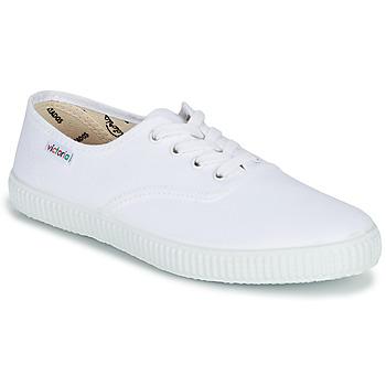 Schoenen Lage sneakers Victoria INGLESA LONA Wit