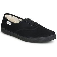 Schoenen Lage sneakers Victoria INGLESA LONA PISO Zwart