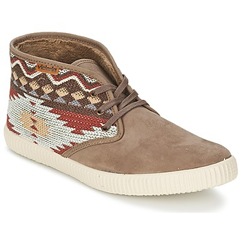 Schoenen Dames Hoge sneakers Victoria SAFARI TEJIDOS ETNICOS Taupe
