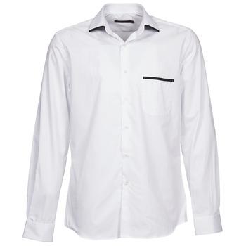 Textiel Heren Overhemden lange mouwen Pierre Cardin ANTOINE Wit