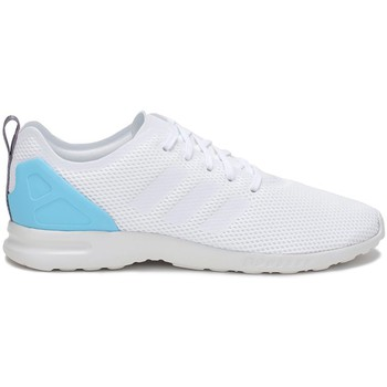 Schoenen Dames Lage sneakers adidas Originals ZX Flux Adv Smooth W Wit