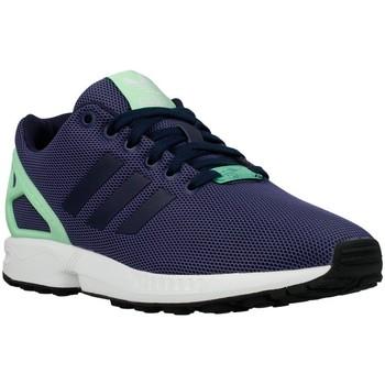 Schoenen Dames Lage sneakers adidas Originals ZX Flux W Light Flash Green