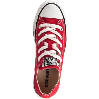 Schoenen Dames Lage sneakers Converse Chuck Taylor All Star OX Rood