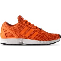 Schoenen Heren Lage sneakers adidas Originals ZX Flux Techfit Zwart-Sinaasappel-Wit