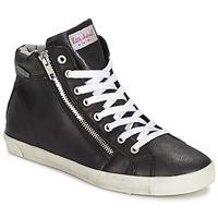 Schoenen Dames Hoge sneakers Little Marcel PRATIK Zwart