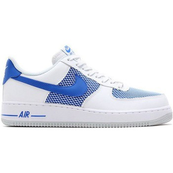 Schoenen Heren Lage sneakers Nike Air Force 1 07 Blauw-Wit