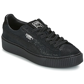 Schoenen Dames Lage sneakers Puma PUMA PLATFORM RESET WN'S Zwart