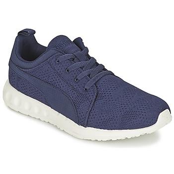 Schoenen Heren Lage sneakers Puma CARSON RUNNER CAMO MESH EEA Blauw