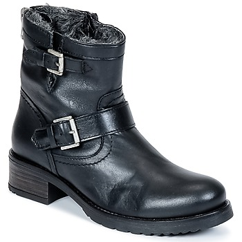 Schoenen Dames Laarzen Buffalo ES-30493-MEXICO Zwart
