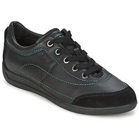 Schoenen Dames Lage sneakers Geox MYRIA Zwart