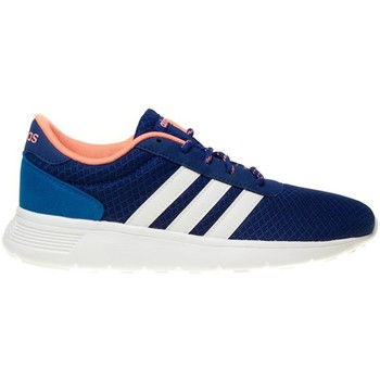 Schoenen Dames Lage sneakers adidas Originals Lite Racer W Wit-Blauw