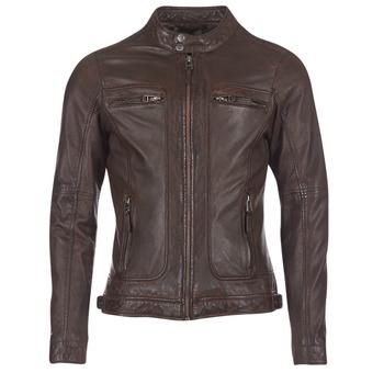 Textiel Heren Leren jas / kunstleren jas Oakwood CASEY Bruin