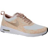 Schoenen Kinderen Sneakers Nike Air Max Thea Print GS 834320-100 Beige