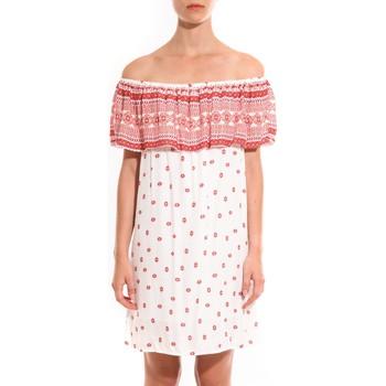 Textiel Dames Korte jurken Jad Robe Atina Rouge Rood