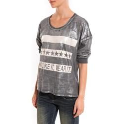 Textiel Dames Truien Dress Code Pull Mooiki Gris Grijs