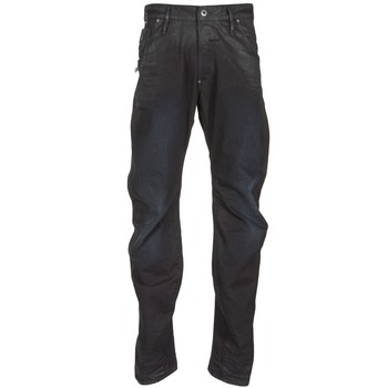 Textiel Heren Straight jeans G-Star Raw NEW ARC ZIP 3D Zwart