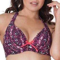 Textiel Dames Bikinibroekjes- en tops Curvy Kate CS2921 CHERRY BERRY Violet