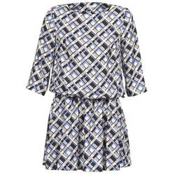 Textiel Dames Korte jurken Manoush MOSAIQUE Grijs / Zwart