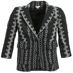 Textiel Dames Jasjes / Blazers Manoush TAILLEUR Grijs / Zwart
