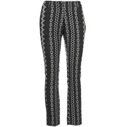 Textiel Dames 5 zakken broeken Manoush TAILLEUR Grijs / Zwart