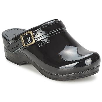 Schoenen Dames Klompen Sanita FREYA Zwart