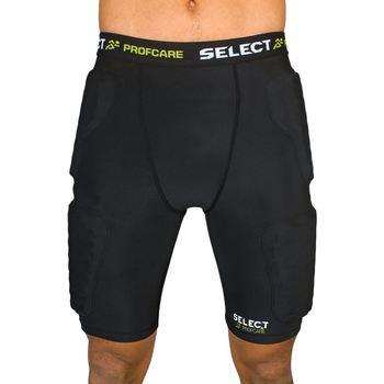Textiel Heren Korte broeken / Bermuda's Select Short de compression avec PADS  6421 noir