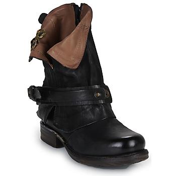 Schoenen Dames Laarzen Airstep / A.S.98 SAINT BIKE Zwart