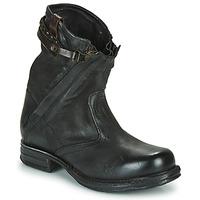 Schoenen Dames Laarzen Airstep / A.S.98 SAINT METAL ZIP Zwart