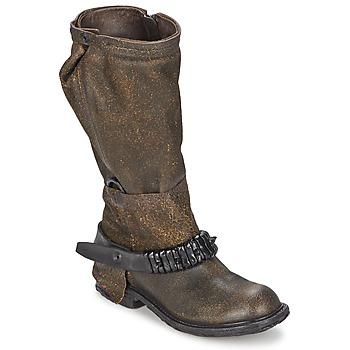 Schoenen Dames Hoge laarzen Airstep / A.S.98 RINETTE Bruin