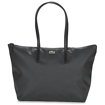 Tassen Dames Handtassen lang hengsel Lacoste L.12.12 CONCEPT L Zwart