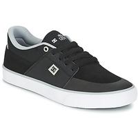 Schoenen Heren Lage sneakers DC Shoes WES KREMER M SHOE XKSW Zwart / Grijs / Wit