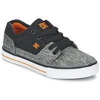 Schoenen Jongens Lage sneakers DC Shoes TONIK TX SE B SHOE BGY Zwart / Grijs / Oranje