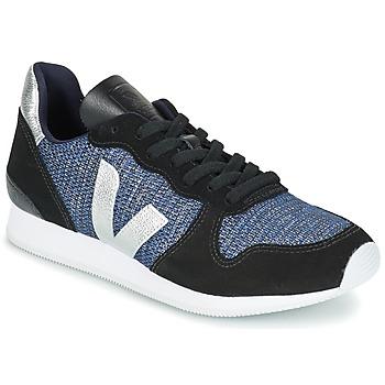 Schoenen Dames Lage sneakers Veja HOLIDAY LOW TOP Zwart / Blauw / Zilver