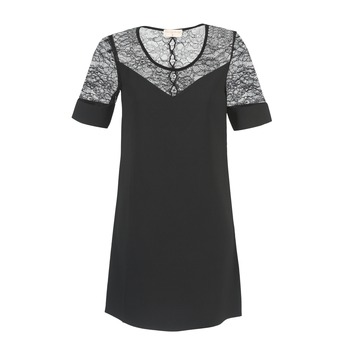 Textiel Dames Korte jurken Moony Mood FUFU Zwart