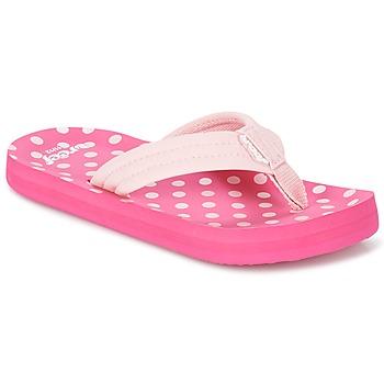 Schoenen Meisjes Teenslippers Reef LITTLE AHI Roze