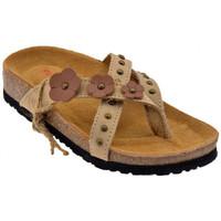 Schoenen Dames Teenslippers Lumberjack  Beige