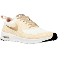 Schoenen Dames Lage sneakers Nike Air Max Thea Print Wit