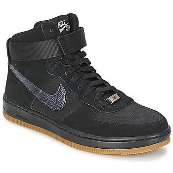 Schoenen Dames Hoge sneakers Nike W AF1 ULTRA FORCE MID Zwart / Zilver