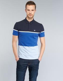 Textiel Heren Polo's korte mouwen Armani jeans MARAFOTA Blauw