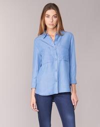 Textiel Dames Overhemden Armani jeans OUSKILA Blauw