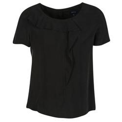 Textiel Dames Tops / Blousjes Armani jeans GITAMIO Zwart