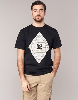 Textiel Heren T-shirts korte mouwen DC Shoes LONG DAY SS Zwart
