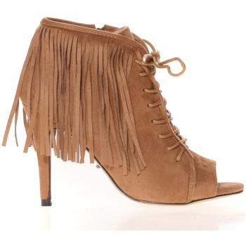 Schoenen Dames Sandalen / Open schoenen Cassis Côte d'Azur Cassis Côte d' azur Bottine Majorelle Camel Bruin