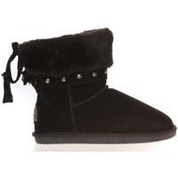 Schoenen Dames Laarzen Ilario Ferucci Boots Rebus Noir Zwart