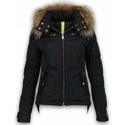 Textiel Dames Parka jassen Milan Ferronetti Winterjassen - Dames Winterjas Kort - Basic Fit Exclusive 38