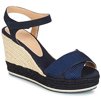 Schoenen Dames Sandalen / Open schoenen Castaner VERONICA Marine / Zwart