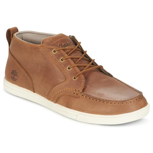 Schoenen Heren Lage sneakers Timberland FULK LP CHUKKA MT LEATHER Bruin