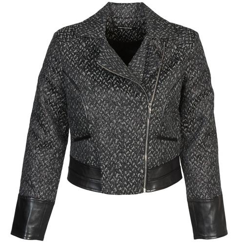 Textiel Dames Wind jackets Fornarina SELINE Grijs / Zwart