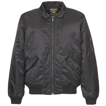 Textiel Heren Wind jackets Teddy Smith BATY Zwart