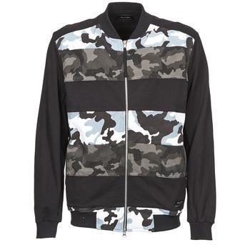 Textiel Heren Wind jackets Religion CAMO Zwart / Grijs